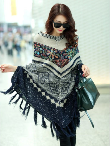 Women Oversized Wool Pullovers
