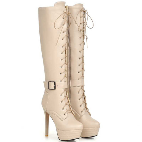 Knee-High Women Boots - Chic128
