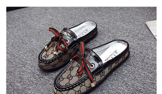 Round Head Flat Shoes - Chic128