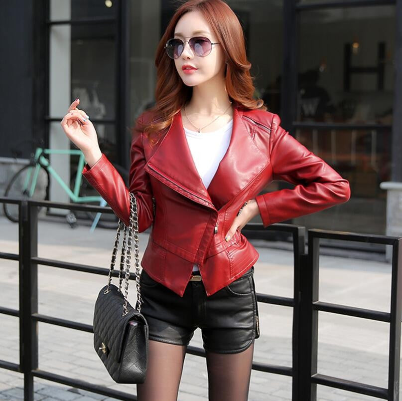 Fashion Motorcycle leather jacket - Chic128
