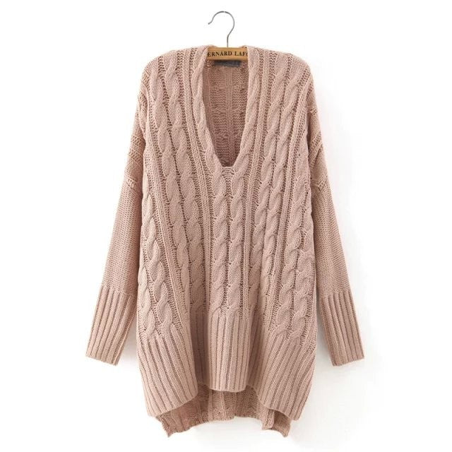 Hand Knitted Sweaters For Women Chic128