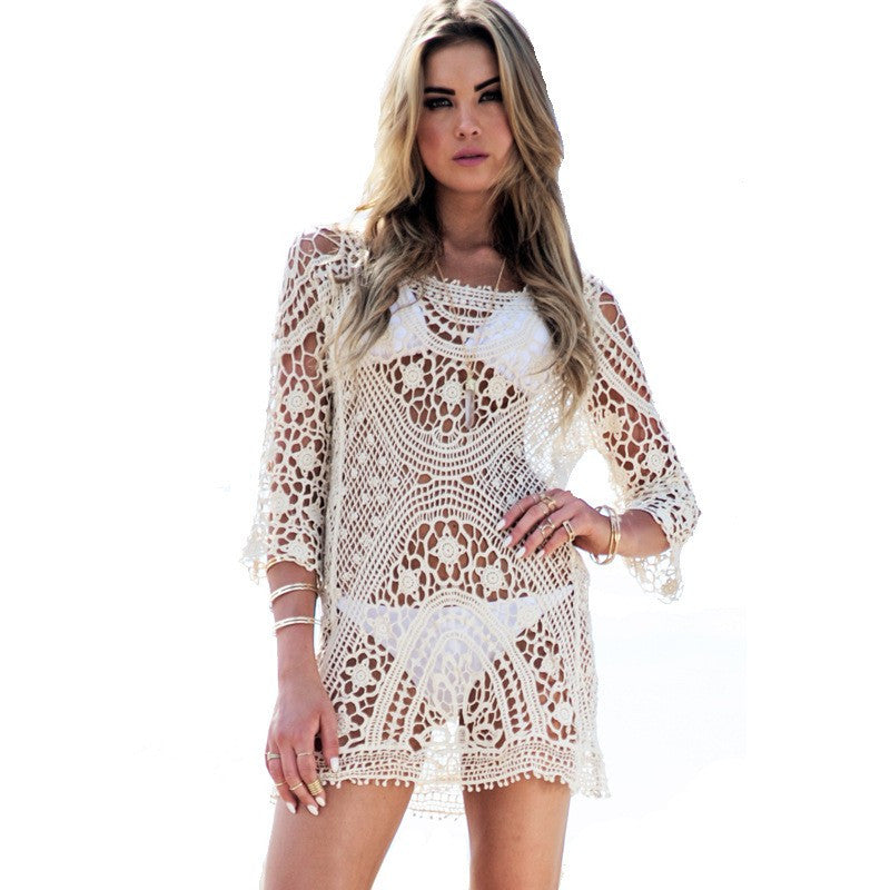 Lace Bikini Cover ups - Chic128