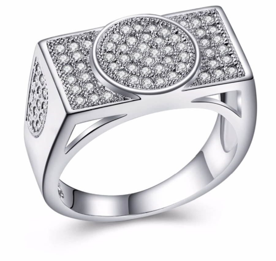 Crystal Jewelry Wedding Ring - Chic128