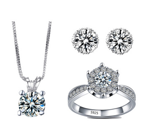 Silver Plated Jewelry Sets - Chic128
