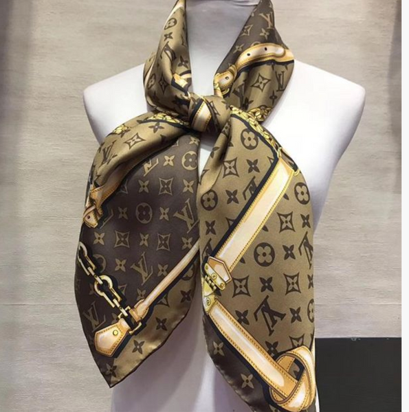 Louis Vuitton Popular Women Men Smooth Cashmere Warm Cape Scarf on sale for holiday gift - Chic128
