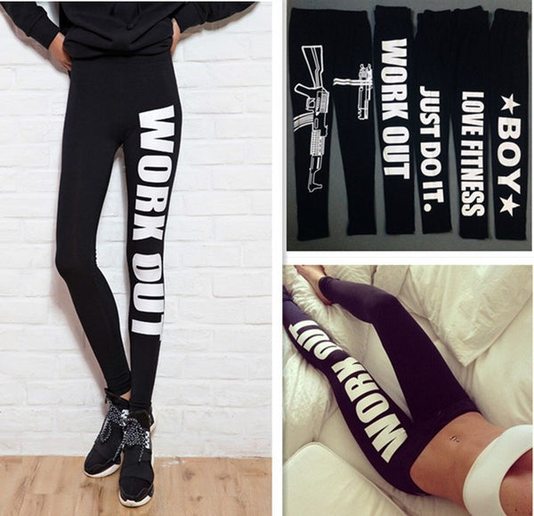 Sexy Fitness Leggings Pants - Chic128