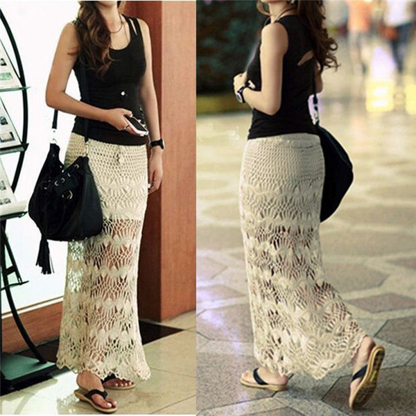 Summer Beach Wear Long Skirt Dress - Chic128
