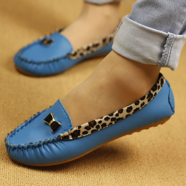 Fashion Leopard Flats - Chic128