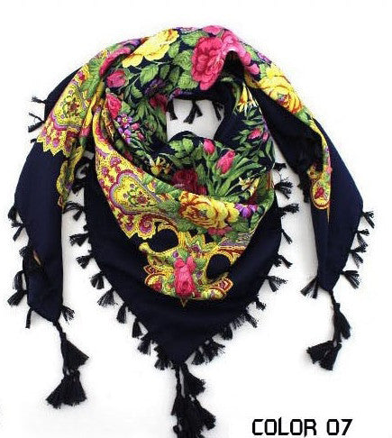 Woman Big Square Scarf - Chic128