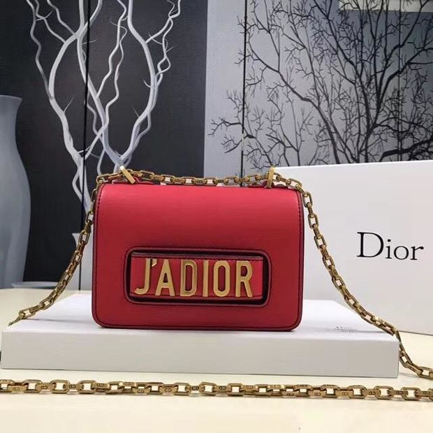 Dior J'ADIOR Women Shopping Bag Leather Chain Crossbody Shoulder Bag Satchel - Chic128