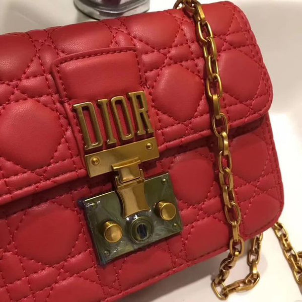 Dior Women Shopping Fashion Leather Chain Satchel Shoulder Bag Crossbody - Chic128