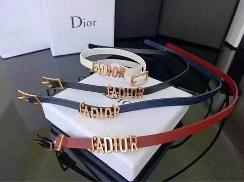 Dior tide brand fashion men and women belt belt - Chic128