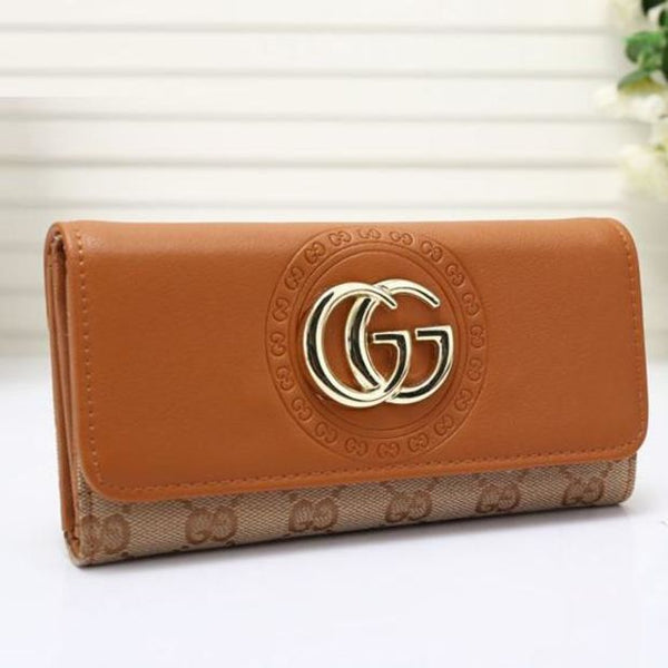 Women Leather Multicolor Purse Wallet - Chic128