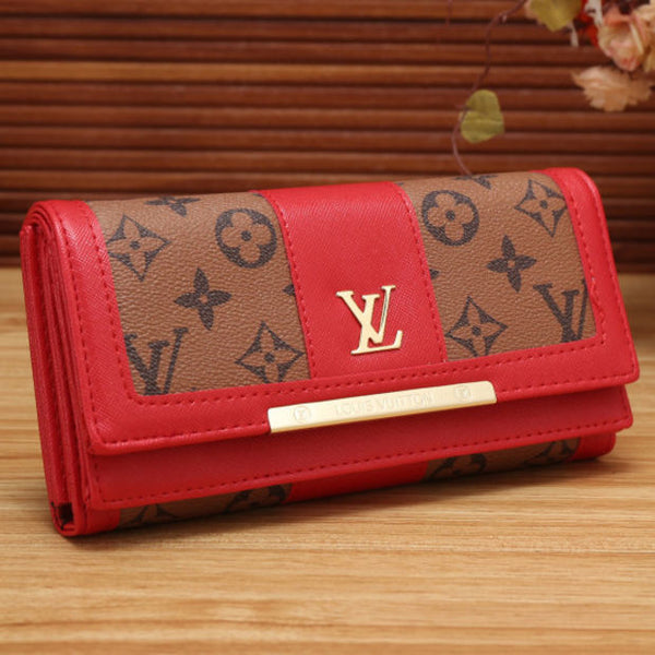 Women Leather Fashion Multicolor Wallet Purse for holiday gifts - Chic128