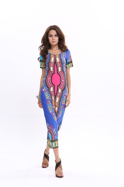 Women Fashion Print Dress