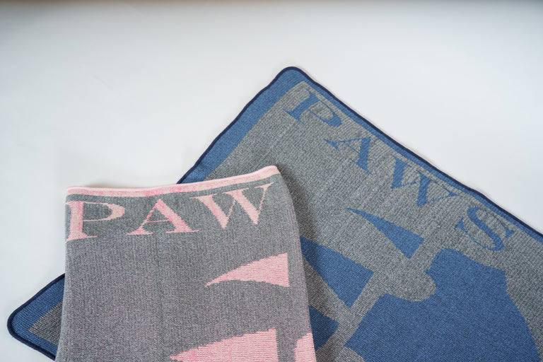Paws Up Baby Blankets
