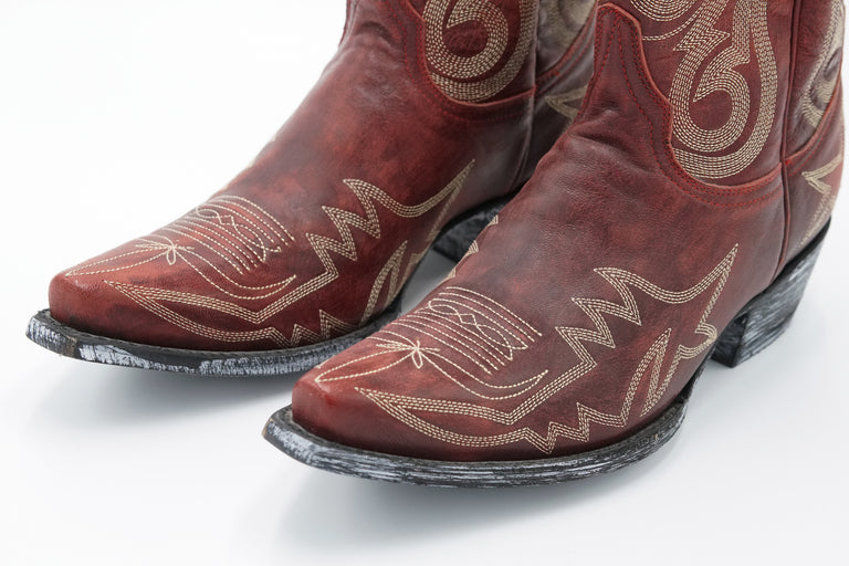 Old Gringo Nevada Cowboy Boots - Red