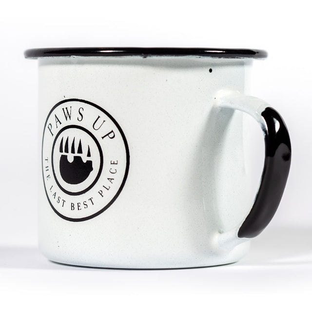 Paws Up Tin Mug
