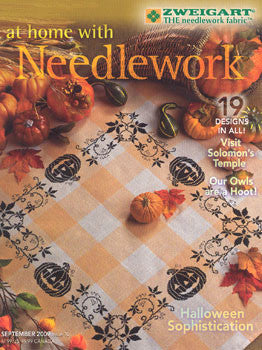 September 2009, At Home With Needlework, Zweigart