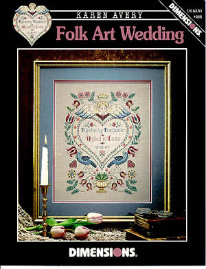 Folk Art Wedding, Dimensions