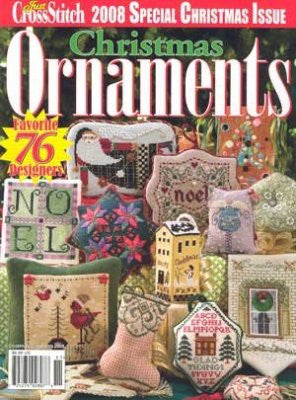 2008 Just Crostitch Ornaments