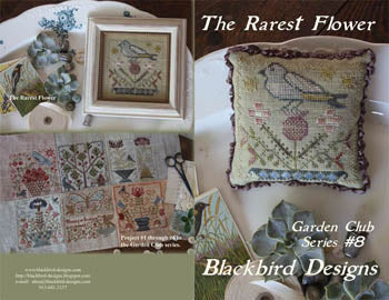 25507 The Rarest Flowers, Garden Club #8, Blackbird Designs