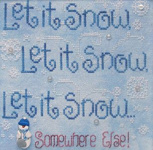 Let It Snow! Somewhere Else!, Waxing Moon Designs