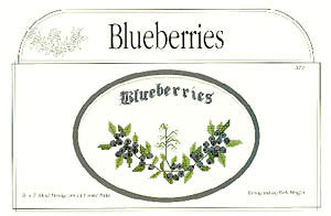 Blueberries, Designs by Deb Moffitt