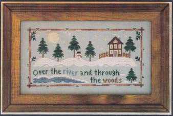 Through the Woods, Little House Needlework