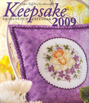BH2009 Keepsake Calendar 2009, Cross Stitch & Needlework