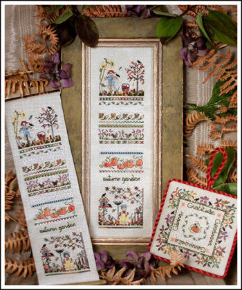 17694 Autumn Garden Sampler, The Victoria Sampler