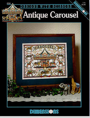 Antique Carousel, Dimensions