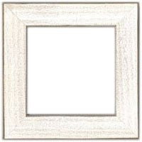 GBFRM10 Antique White, Wood Frame, Mill Hill Beads