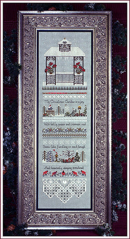 20137 Christmas Gazebo, The Victorian Sampler