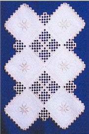 Treasure Table Runner, Satin Stitches