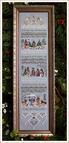 20140 Heirloom Nativity Sampler, The Victorian Sampler