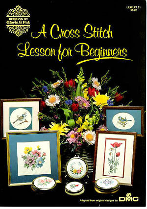 A Cross Stitch Lesson, Gloria & Pat