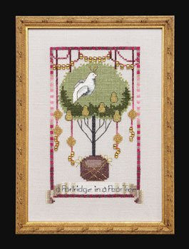 Partridge In A Pear Tree, 12 Days of Christmas, Nora Corbett, Mi