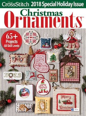 60131 2018 Christmas Ornaments, Just Cross Stich