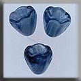 12029 Marbled Blue, Sm Bell Flower, Mill Hill Beads