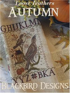 Autumn, Loose Feathers, Blackbird Designs