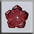 12009 Ruby, 5 Petal Flower, Mill Hill Beads