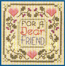 Dear Friend, Elizabeth\'s Design