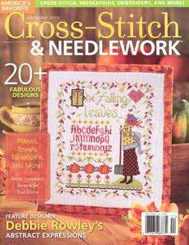 Nov 2010, Cross Stitch & Needlework
