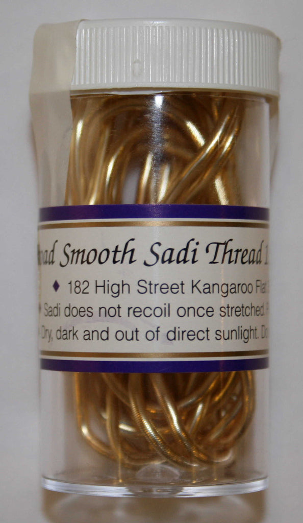 Smooth, Gold Sadi Thread