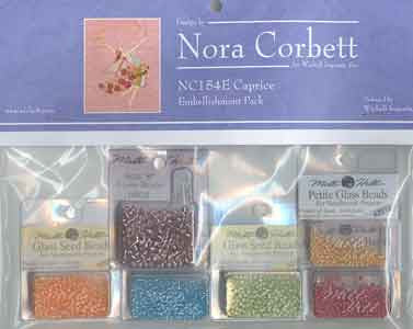 Caprice Embellishment Pac, Mill Hill Beads