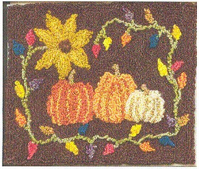 Pumpkin Patch, Punch Needel, Designs From the Pep\'r Pot