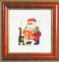 143230 Santa By The Stove, Kits, Permin of Copenhagen