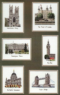 London Cross Stitchers Quide, Heritage Stitchcraft