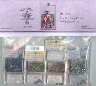 The Red Lady Pirate, Embellishment Pack